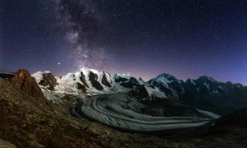 Switzerland_MilkyWayPano_Diavolezza