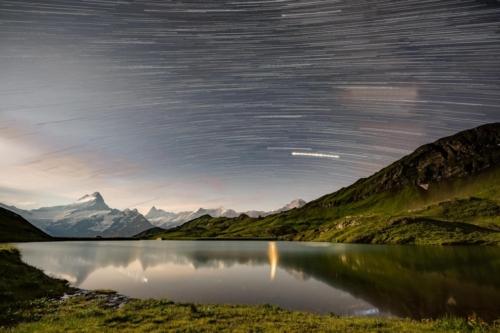 Switzerland_StarTrails_Bachalpsee